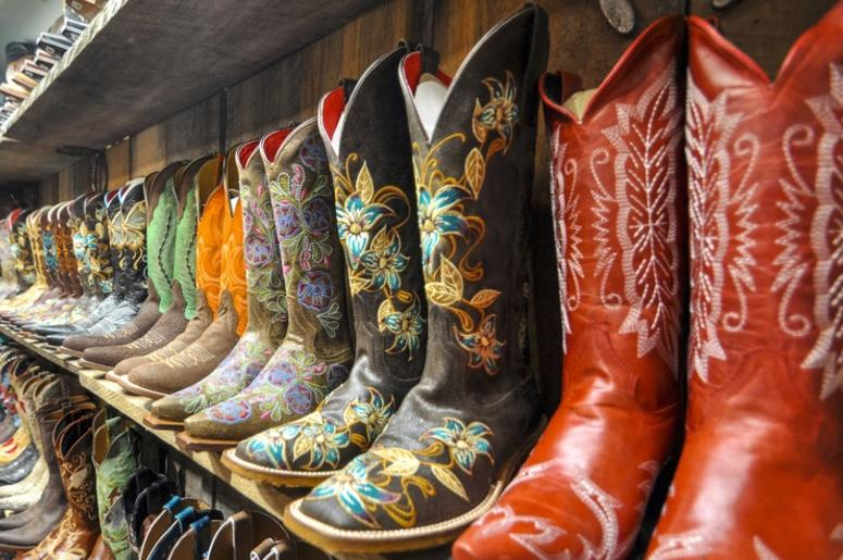 d6a21c031c3 A Texas Trend No One Asked For...Lace Up Cowboy Boots | 98.7 KLUV