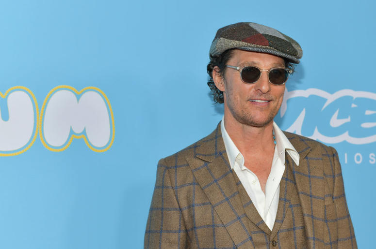 "Matthew McConaughey attends the Los Angeles premiere of  ""The Beach Bum"" at ArcLight Hollywood"