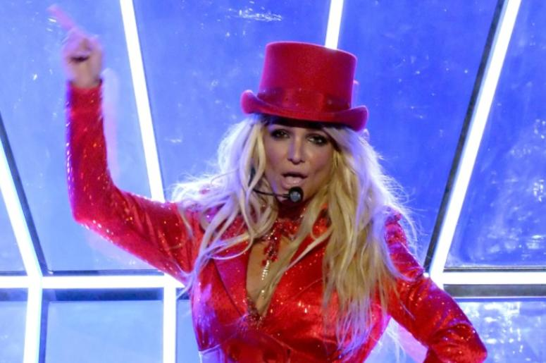 LAS VEGAS, NV - MAY 22: Recording artist Britney Spears performs onstage during the 2016 Billboard Music Awards at T-Mobile Arena on May 22, 2016 in Las Vegas, Nevada