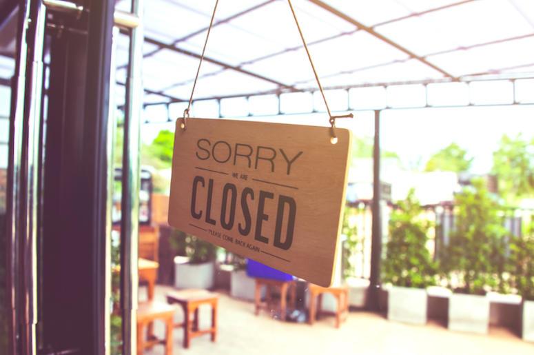 Restaurant, Shop, Closed