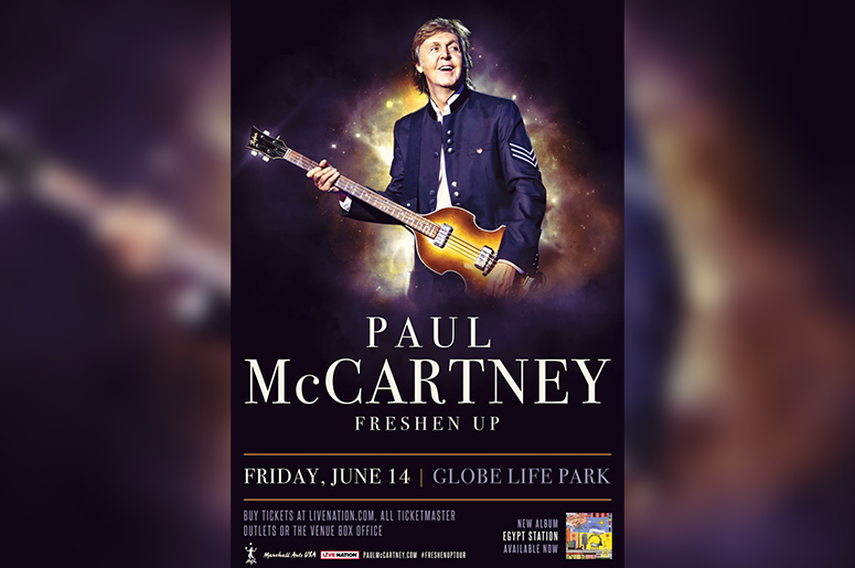 Paul Mccartney Tour 2019 Paul McCartney Announces 'The Freshen Up' Tour For 2019; Coming To