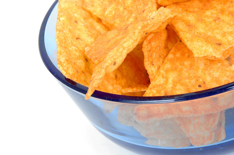 Bowl, Doritos, Chips