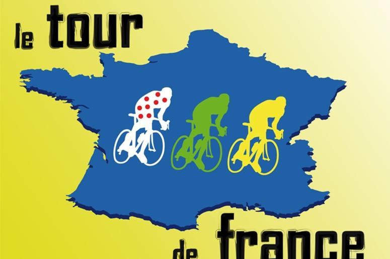 Tour de France. Pedal, victory.