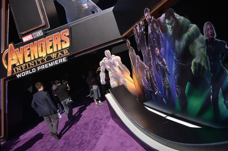 """Monday April 22, 2018 - Hollywood premiere of Marvel Studios' """"Avengers: Infinity War"""""""