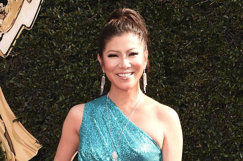 PASADENA, CA - APRIL 29: Julie Chen at the 45th Annual Daytime Emmy Awars at the Pasadena Civic Auditorium on April 29, 2018 in Pasadena, California