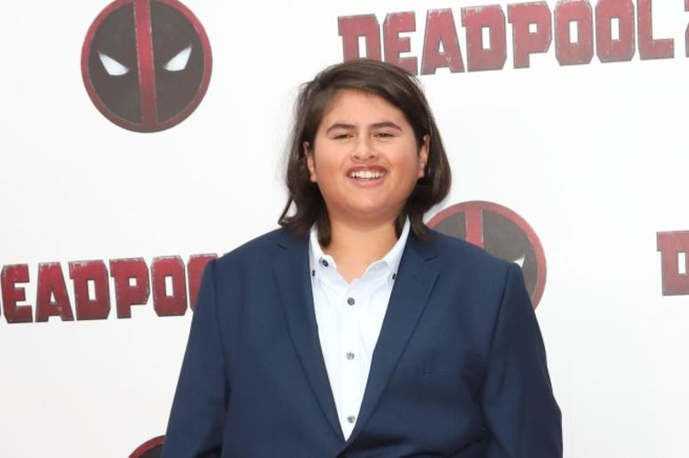 """5/14/2018 - Julian Dennison attends a special screening of """"Deadpool 2"""" at AMC Loews Lincoln Square in New York"""