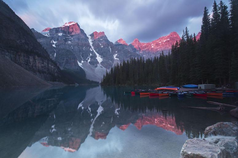 Moraine Lake, Banff National Park, Canada Rockies, Alberta, Canada
