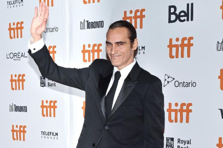 """08 September 2018 - Toronto, Ontario, Canada - Joaquin Phoenix. """"The Sisters Brothers"""" Premiere - 2018 Toronto International Film Festival held at the Princess of Wales Theatre"""