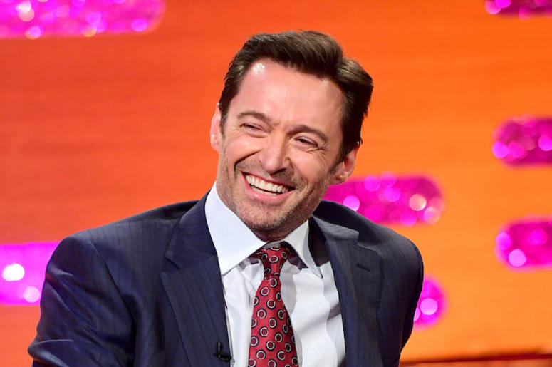 Hugh Jackman, Smiling, Graham Norton Show, 2019