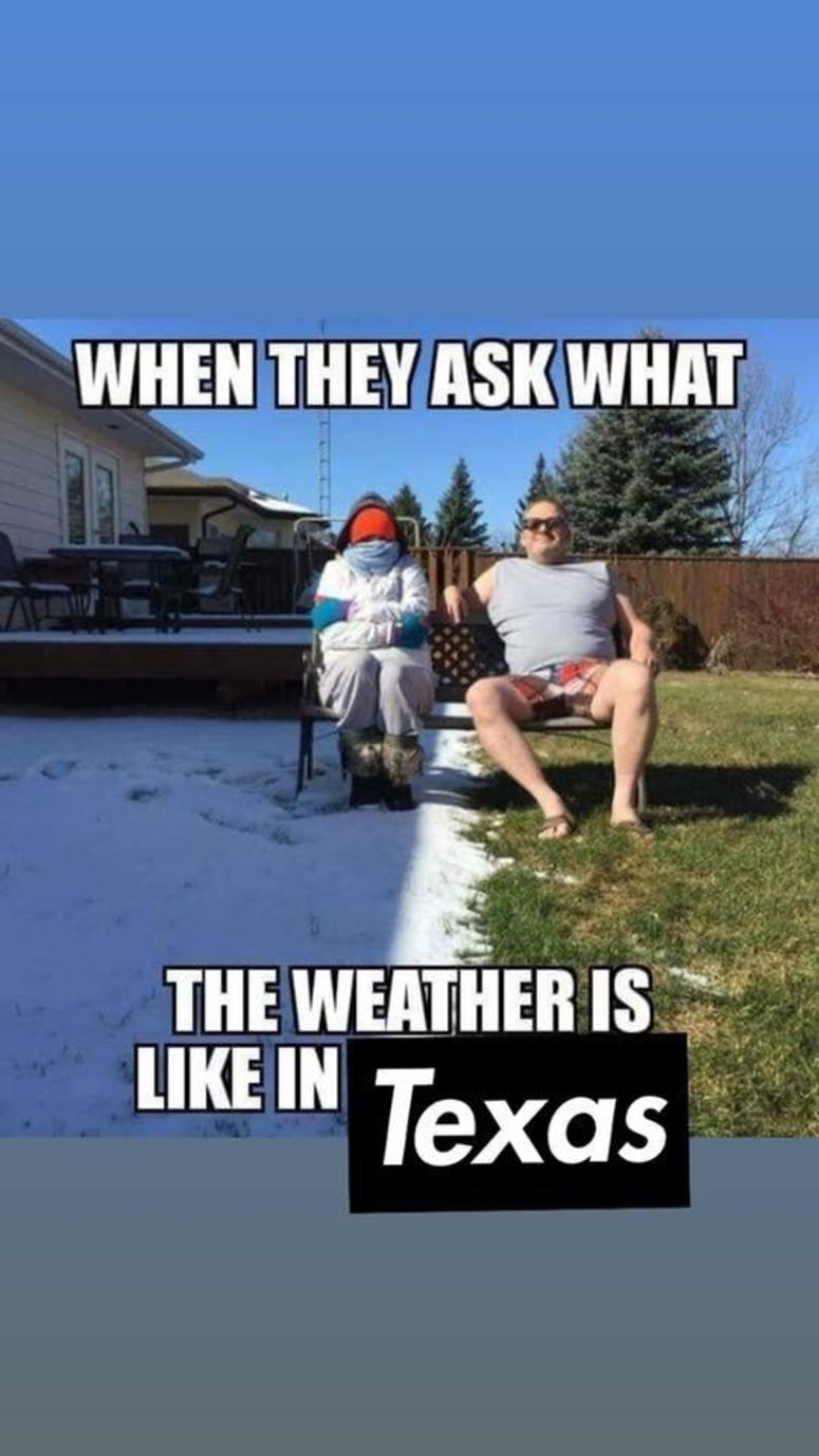 As Our Texas Winter Fluctuates Between Hot & Cold, This ...