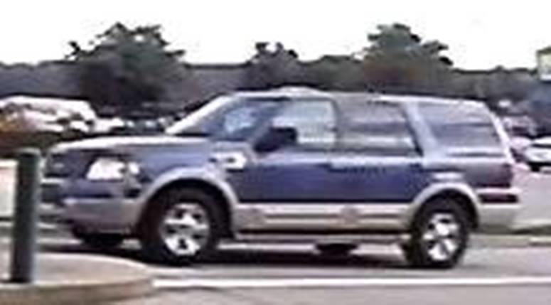 Hurst TX ATM Scammer Vehicle