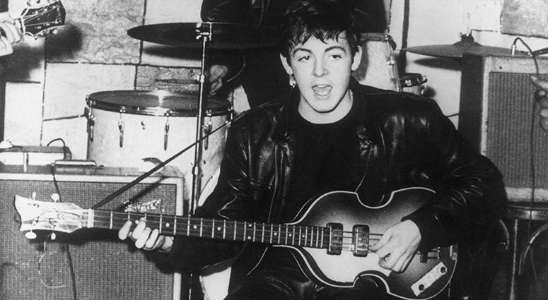 Paul McCartney on Bass
