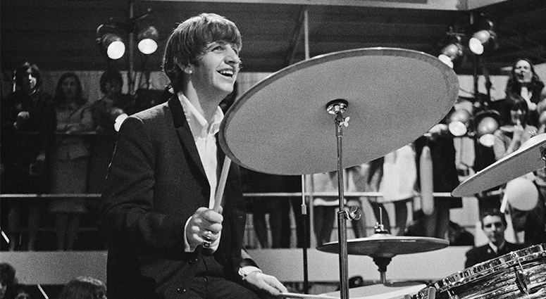 Ringo Starr on Drums