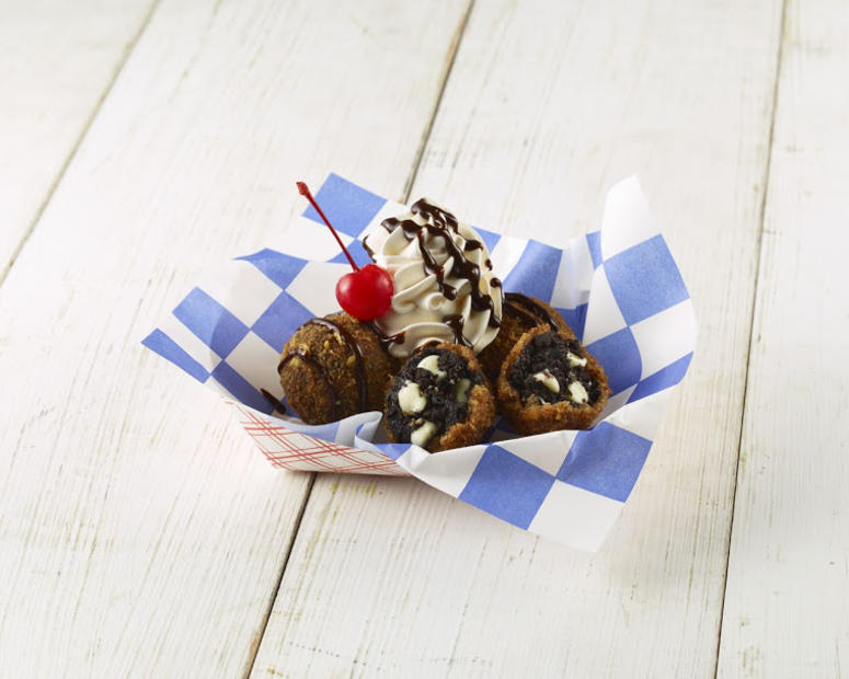 "Quick Fried ""Black Gold"" Truffles by Glen & Sherri Kusak (Photo credit: State Fair of Texas®)"