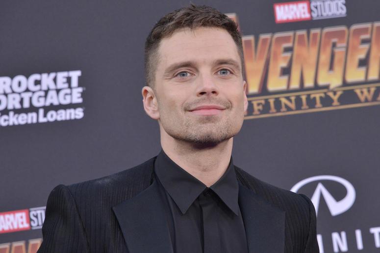 "Sebastian Stan arrives at Marvel Studios' ""Avengers: Infinity War"" held on Hollywood Blvd in Hollywood, CA on Monday, April 22, 2018."