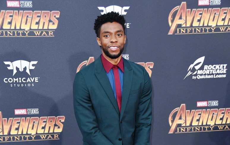 """23 April 2018 - Hollywood, California - Chadwick Boseman . Disney and Marvel's """"Avengers: Infinity War"""" Los Angeles Premiere held at Dolby Theater"""