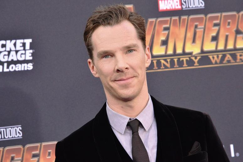 """Benedict Cumberbatch arrives at Marvel Studios' """"Avengers: Infinity War"""" held on Hollywood Blvd in Hollywood, CA on Monday, April 22, 2018"""