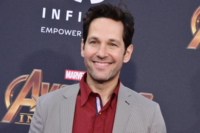 """Paul Rudd arrives at Marvel Studios' """"Avengers: Infinity War"""" held on Hollywood Blvd in Hollywood, CA on Monday, April 22, 2018."""