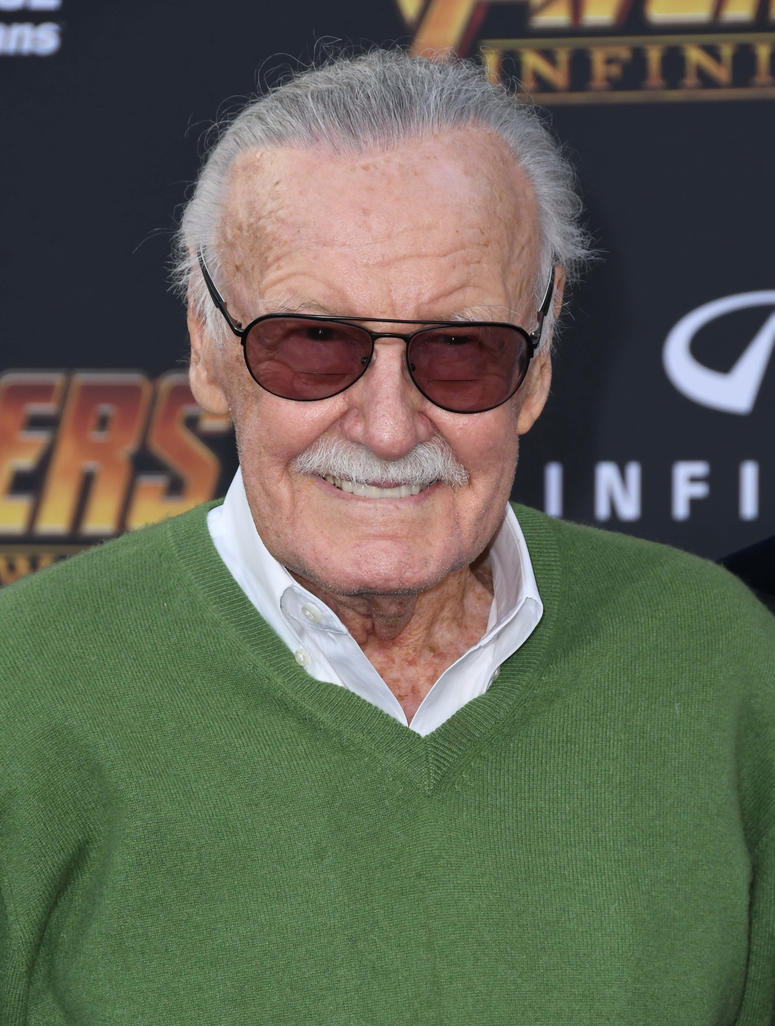 """23 April 2018 - Hollywood, California - Stan Lee. Disney and Marvel's """"Avengers: Infinity War"""" Los Angeles Premiere held at Dolby Theater"""