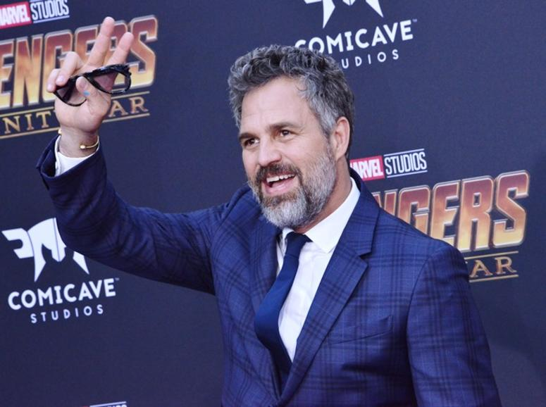 """Mark Ruffalo arrives at Marvel Studios' """"Avengers: Infinity War"""" held on Hollywood Blvd in Hollywood, CA on Monday, April 22, 2018."""