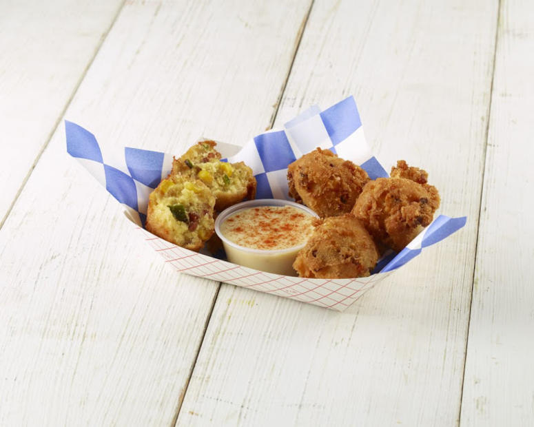 Texas Cream Corn Casserole Fritters by Clint Probst (Photo credit: State Fair of Texas®)