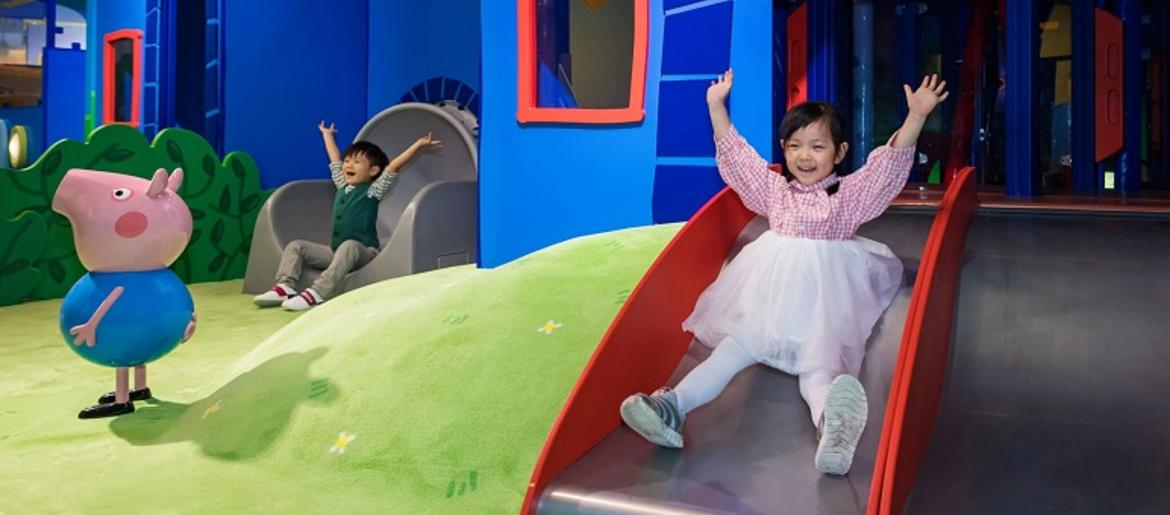 Peppa Pig World Of Play Opening Next Month At Grapevine Mills Mall