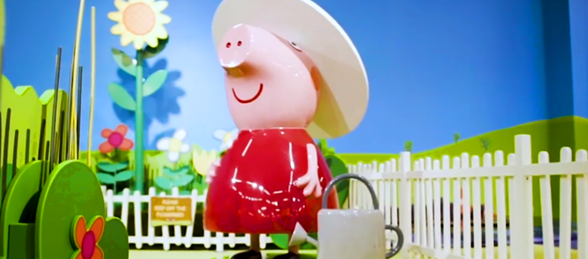 Peppa Pig World Of Play Inside Grapevine Mills Preview Videos 98 7