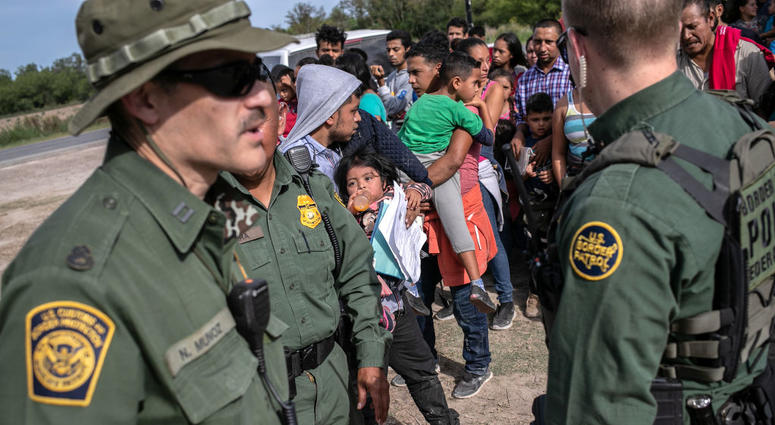 There's another side to the story, Border Patrol agent says