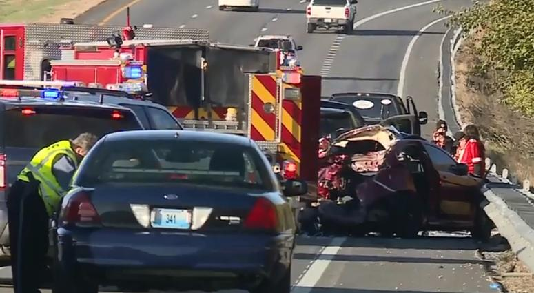 Fatal crash snarls traffic headed into Arrowhead Stadium Sunday