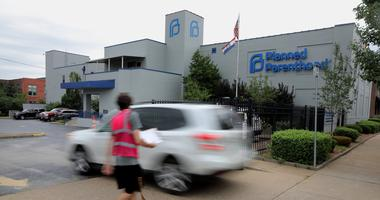 exterior of planned parenthood clinic