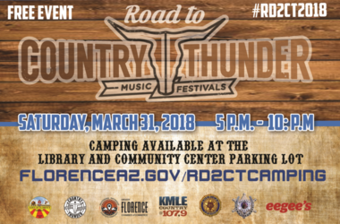 Road To Country Thunder Flyer