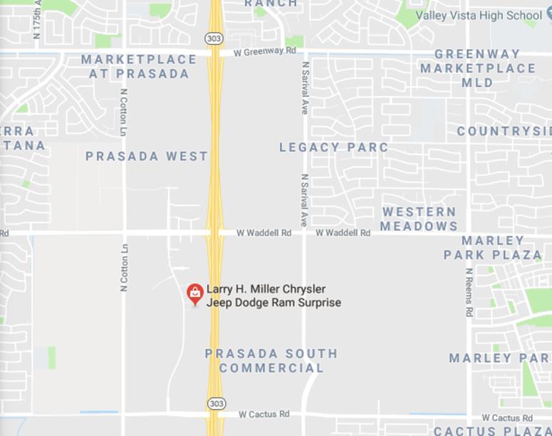 Larry H Miller Surprise Dealership