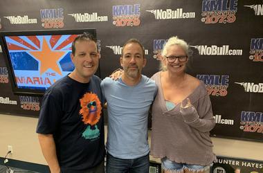 Maria & Chad with Bryan Callen