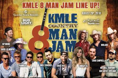 8 Man Jam Line Up
