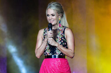 Carrie Underwood cheese sculpture