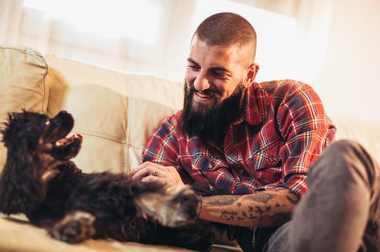 whose beard am i petting