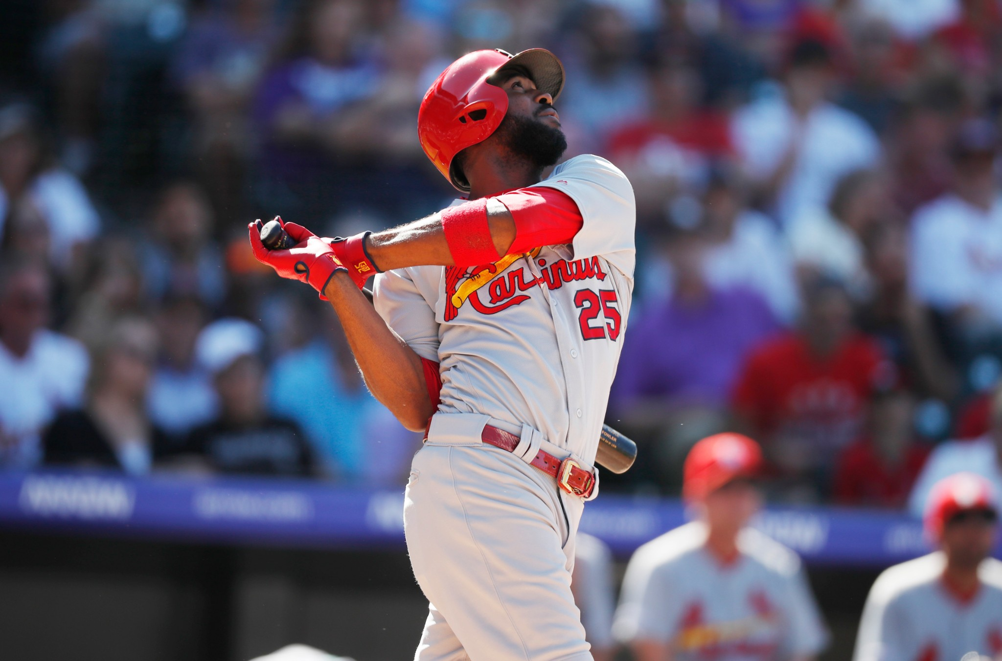 Sleepy Cardinals bats wake up in Colorado in 10-3 win