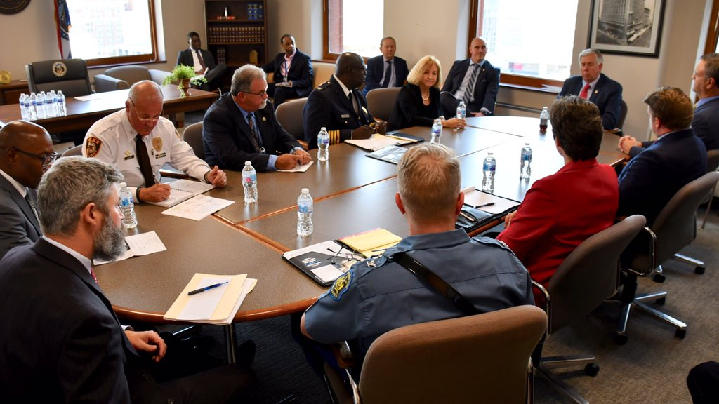 Parson calls on ATF, other agencies to help reduce crime in St. Louis