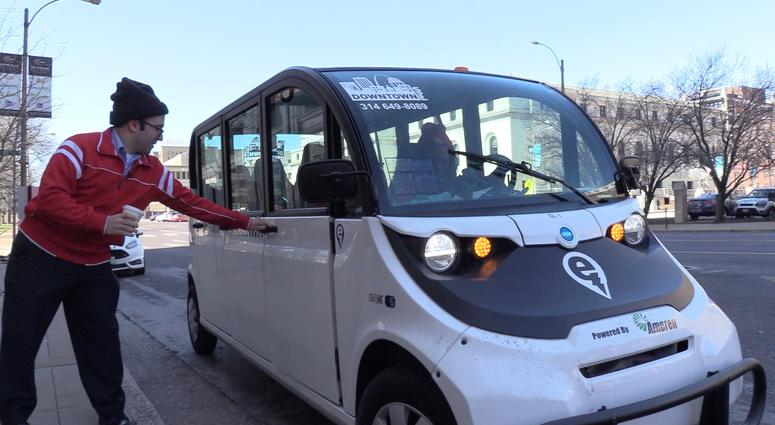 St Louis Taxi >> Heard Of The New Free Taxi Service In Downtown We Gave Ecab A Try
