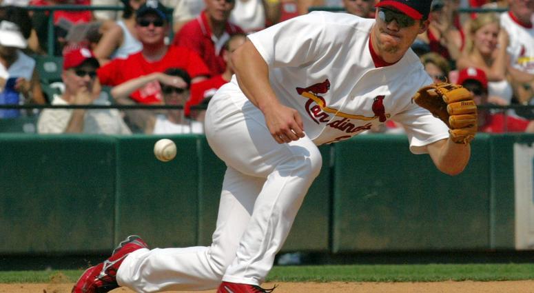 St. Louis' third baseman Scott Rolen