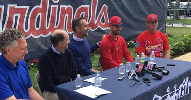 Shortstop Paul DeJong has signed a 6-year contract extension with the St. Louis Cardinals