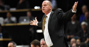 Colorado Buffaloes head coach Tad Boyle