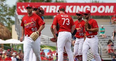 St. Louis Cardinals starting pitcher Adam Wainwright
