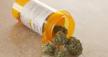 Medical Marijuana in prescription bottle
