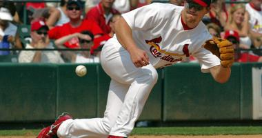 St. Louis' third baseman Scott Rolen