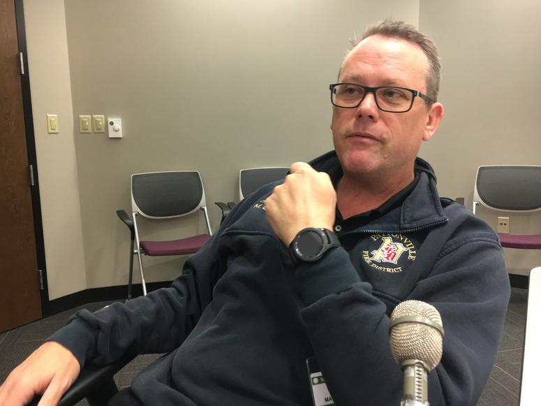 Pattonville Assistant Fire Chief Matt LaVanchy
