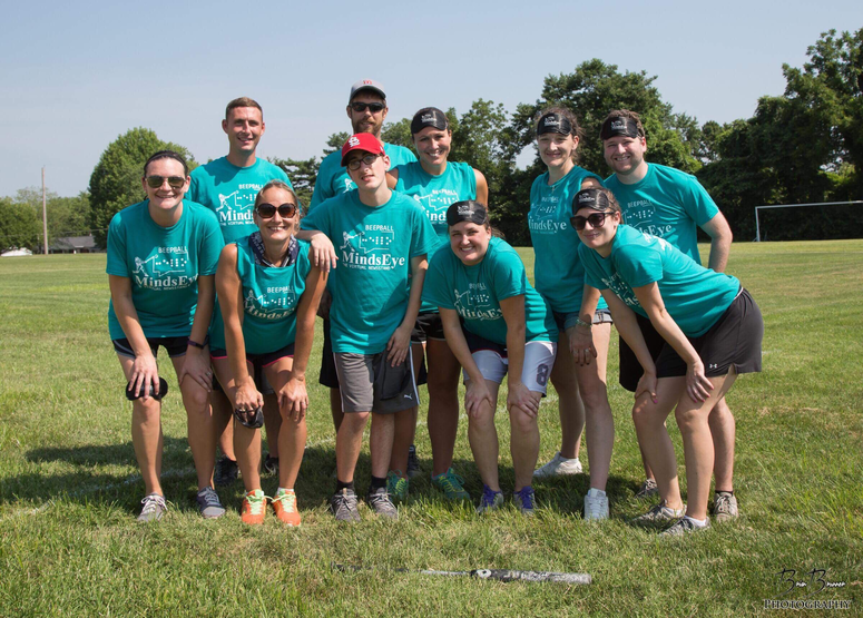 Team from the 2018 Beepball tournament in St. Louis.