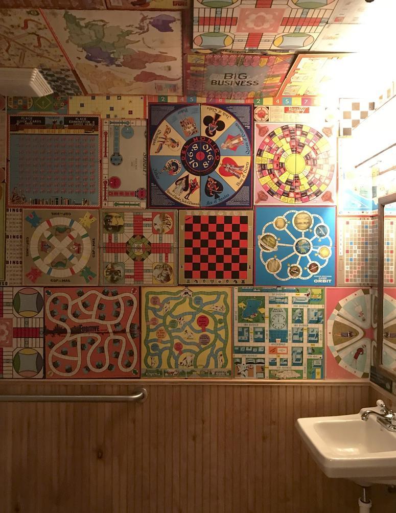 Photo of The Mud House bathroom.