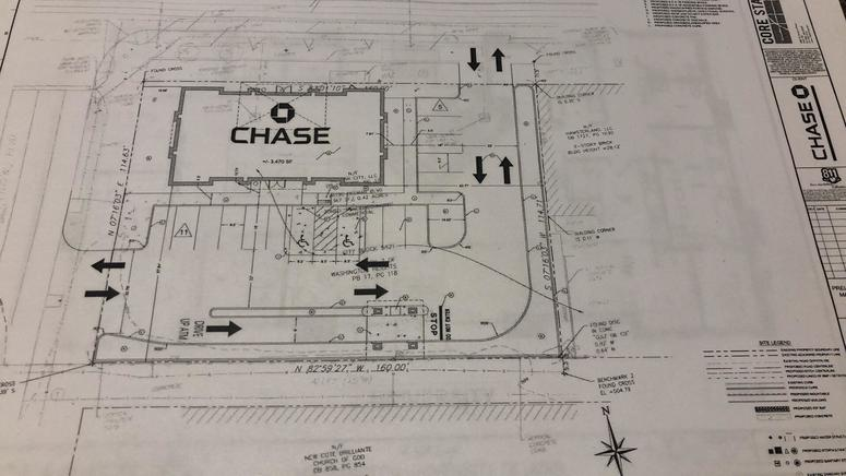 Chase Bank Applies for First St  Louis Location, Building Design