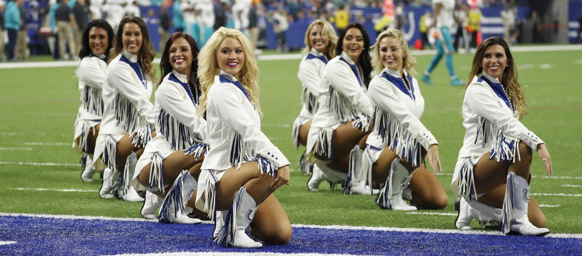 41576608 NFL Colts Cheerleader Uniforms Are Conservative, Less Revealing ...